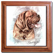 Dogue De Bordeaux Tile Trivet