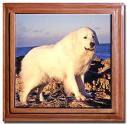 Great Pyrenees Tile Trivet