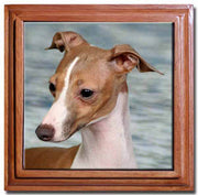 Italian Greyhound Tile Trivet