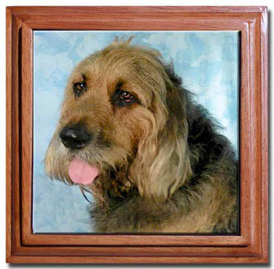 Otterhound Tile Trivet
