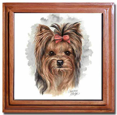 Yorkshire Terrier Tile Trivet