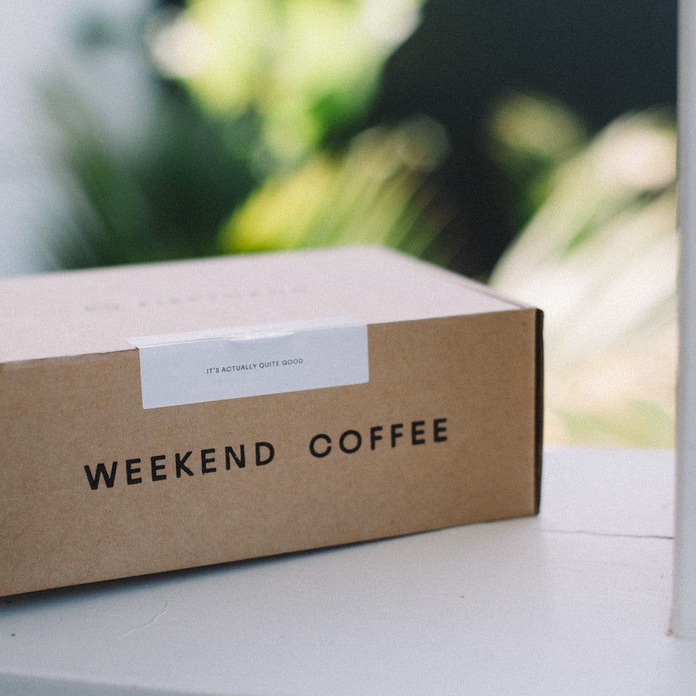 Weekend Coffee Subscription - 6 Months Prepaid