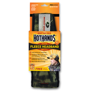 Hothands Heated Headband - Camo Color | HotHands Direct heating hunting headband, heated hunting apparel, heated headwear
