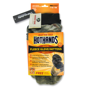 Hothands Heated Mittens - M/L, XL - Camo Color | HotHands Direct - womens hand warmer gloves, ladies hand warmers, hand warmers in gloves, mens hand warmer gloves