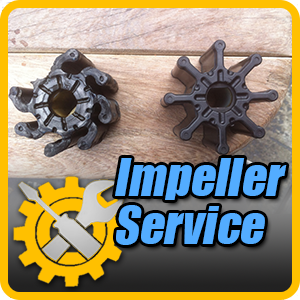 Water Pump impeller Service (engine mounted pump)
