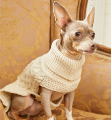 WOOL DOG SWEATER