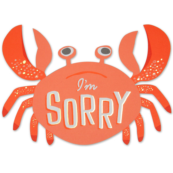 Sorry Crab