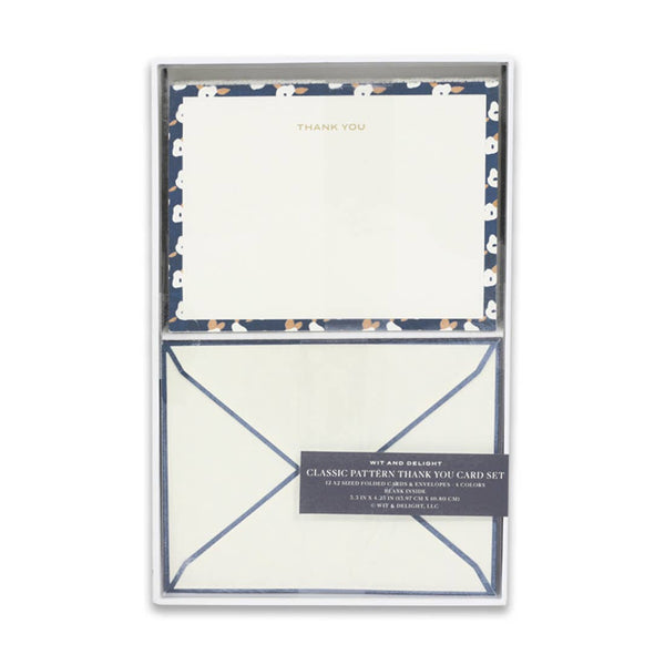 Pattern Thank You Card Set