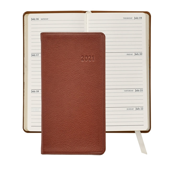 "2021 - 6"" Personal Pocket Journal - Maple"