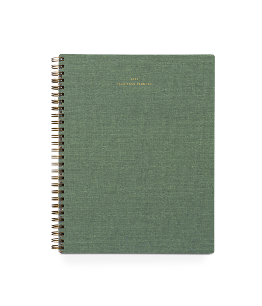 2021 Year Task Planner (Fern Green)