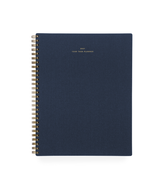 2021 Year Task Planner (Oxford Blue)