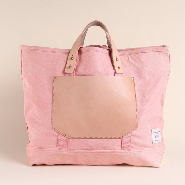 EAST-WEST POCKET TOTE PINK
