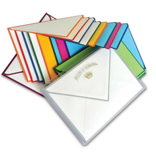 Color Edge Stationery Set