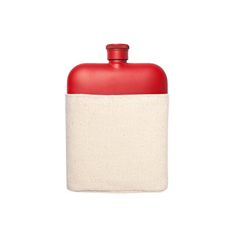 Red Flask and Carrier