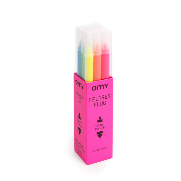 9 Neon Markers