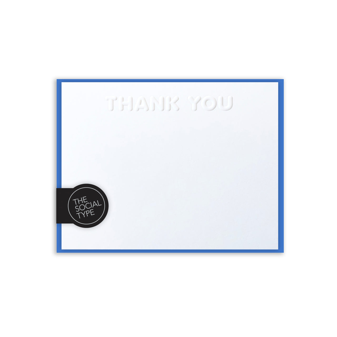 Azure Thank You Note Set