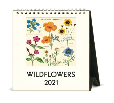 2021 Wildflowers Desk Calendar