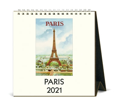 2021 Paris Desk Calendar