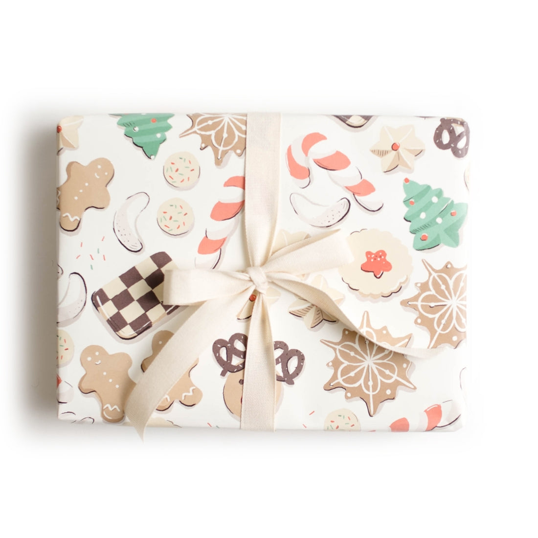 Christmas Cookie Wrap - Single Sheet