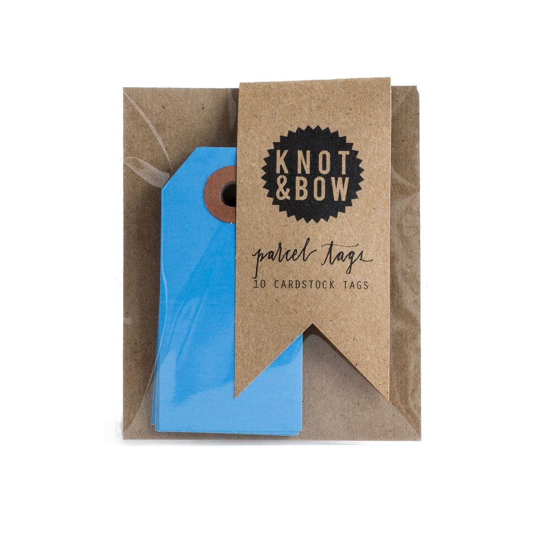 Dark Blue Parcel Tags