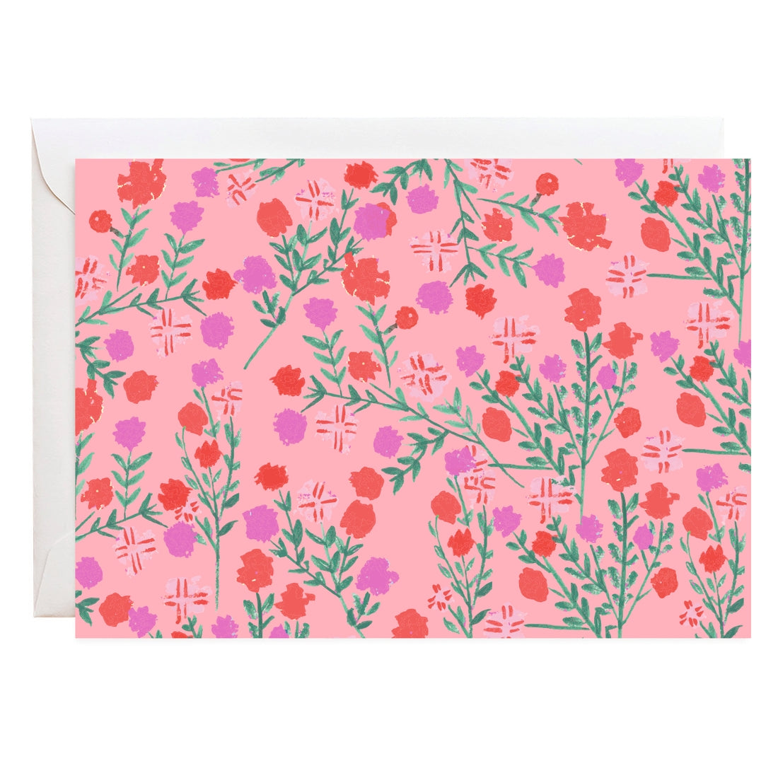 Dahlias Notecard Set
