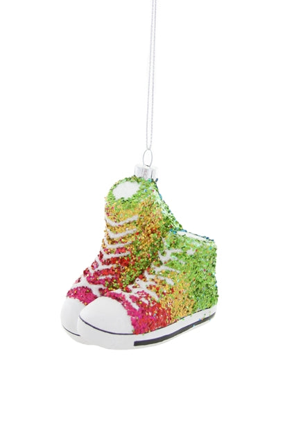 Glittered Rainbow Sneakers