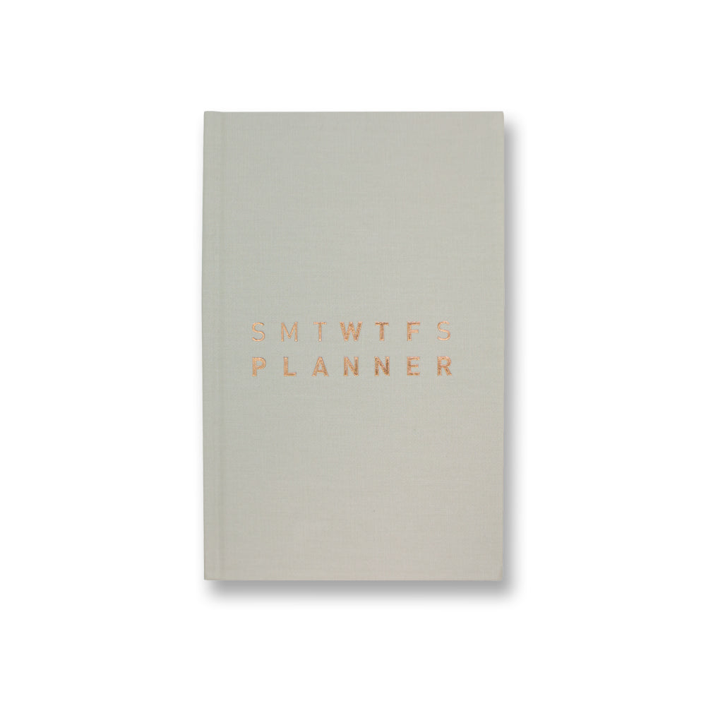 Hazelnut Cream Dated Planner - 2020 12M WTF