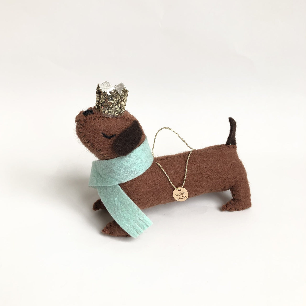 Sausage Dog Felt, Tree Decoration