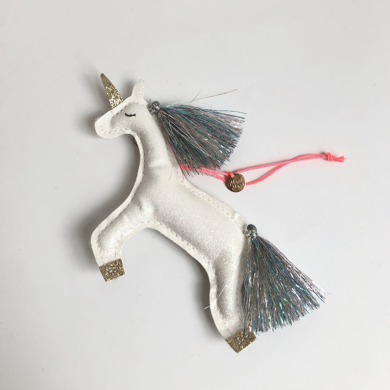 Glitter Unicorn, Tree Decoration