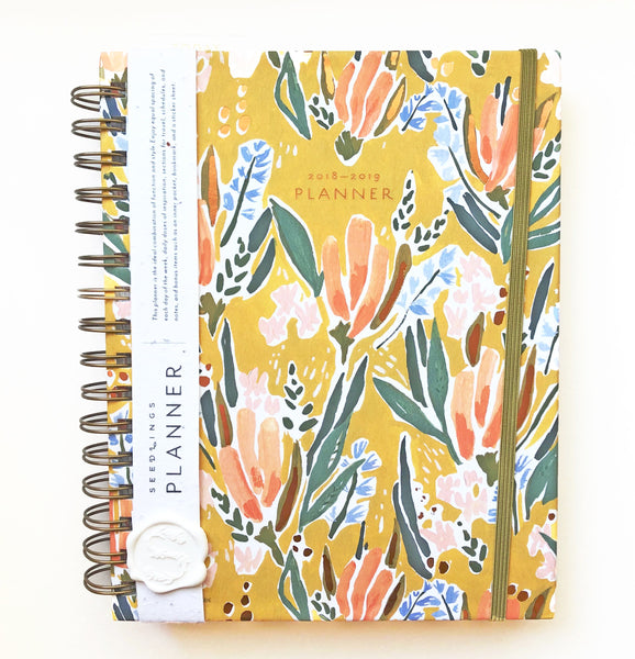 Seedlings Blume 2018-2019 Planner