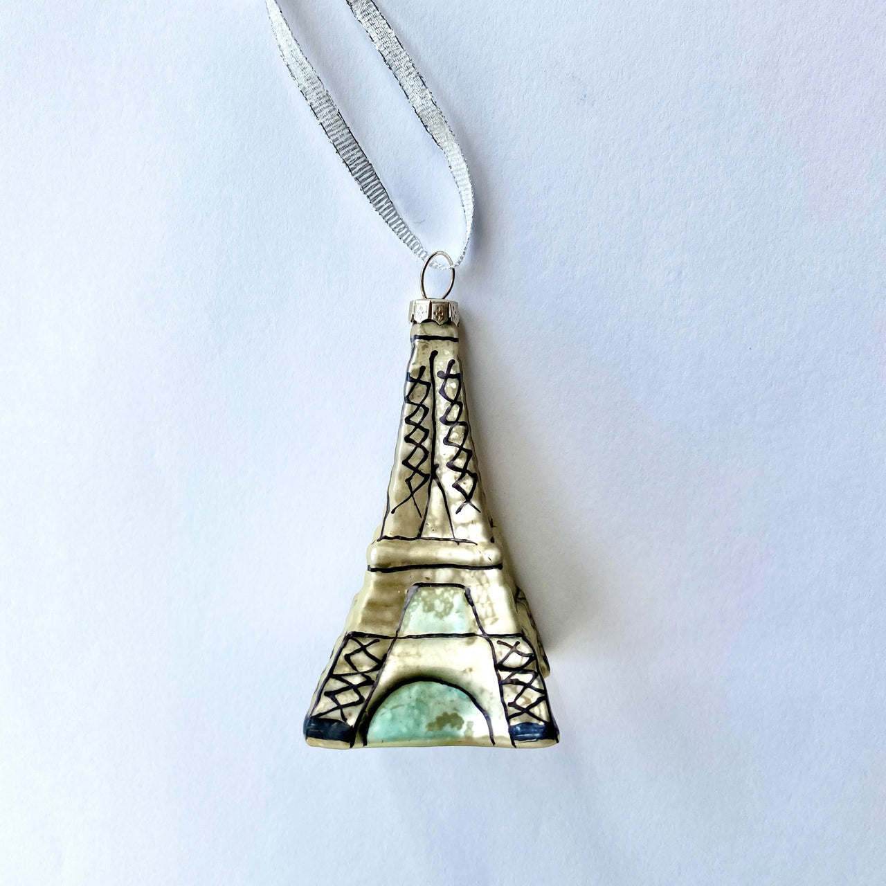 Mercury Glass Eiffel Tower