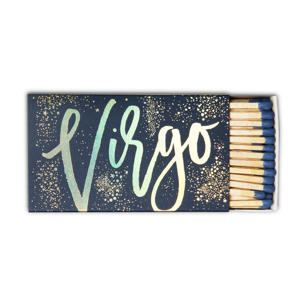 Virgo Zodiac Matchbox