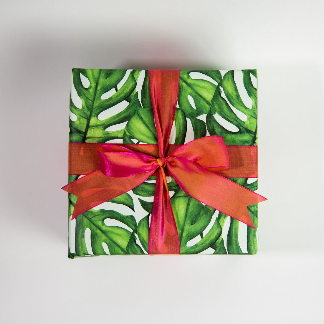 Monstera Gift Wrap Roll