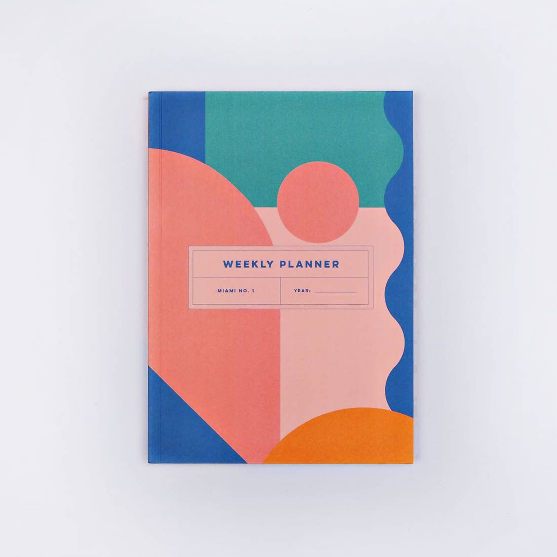 Miami No. 1 Weekly Lay Flat Planner Book