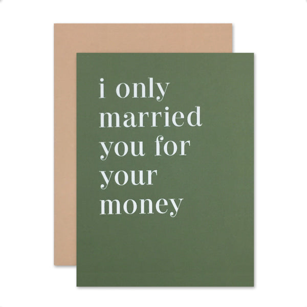 Married You Money