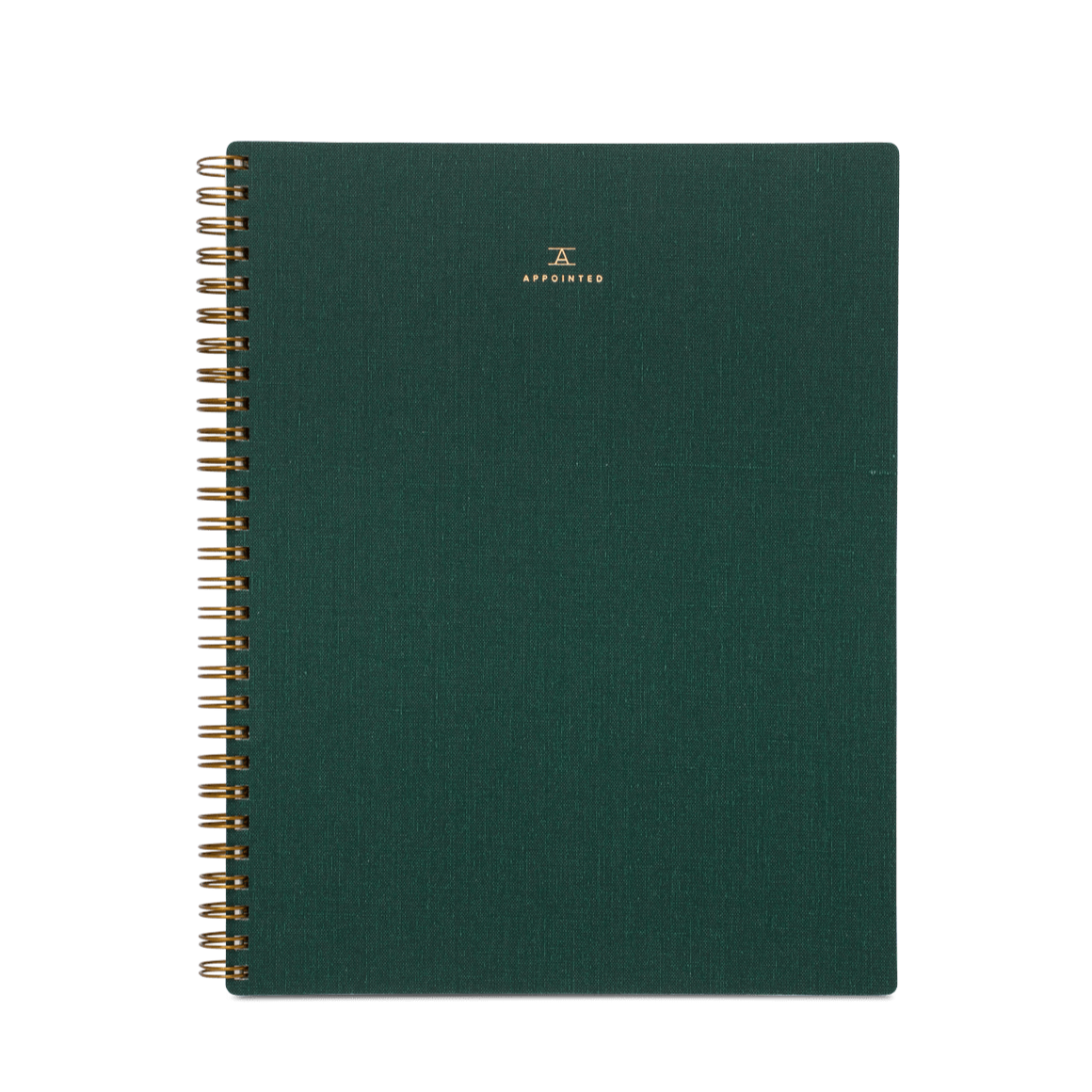 Lined, Hunter Green Notebook