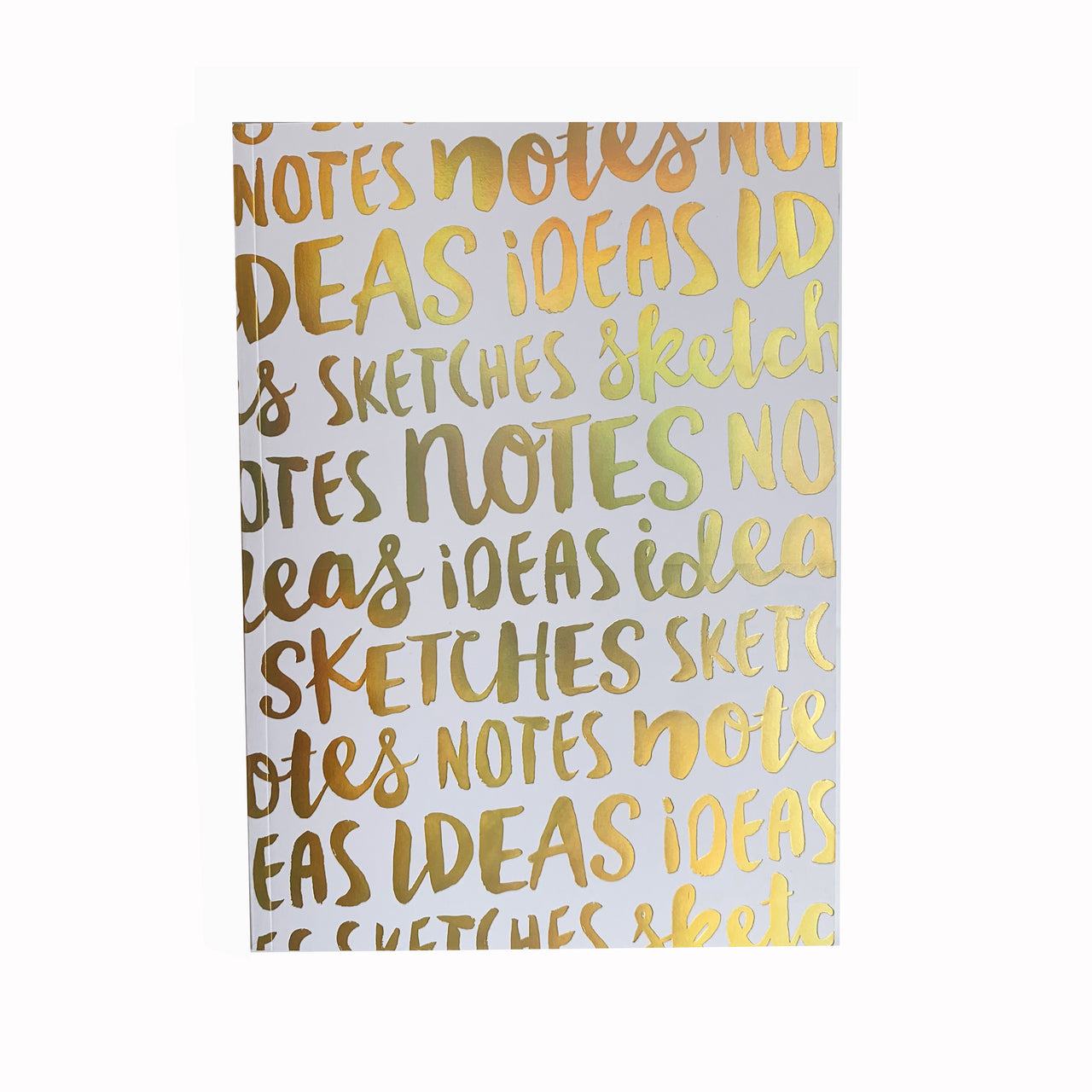 NOTES, IDEAS, SKETCHES - BLANK NOTEBOOK