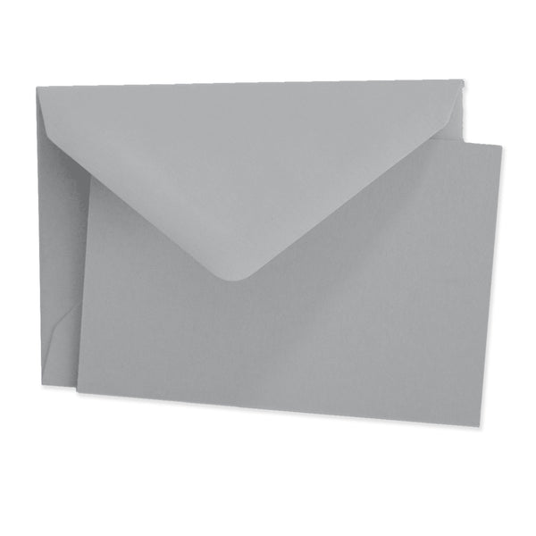 Grey, Note Card Folded