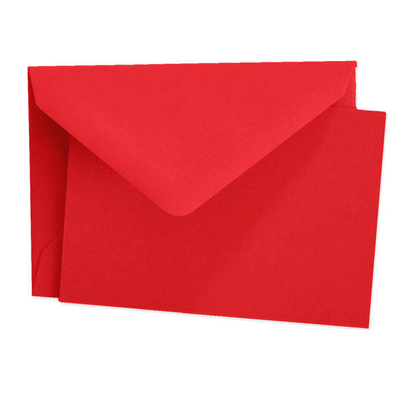 Red, Note Cards Boxed