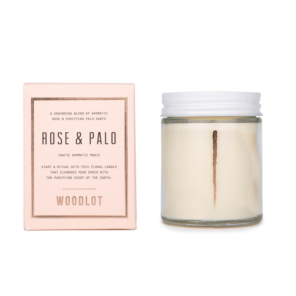 Rose Palo Candle