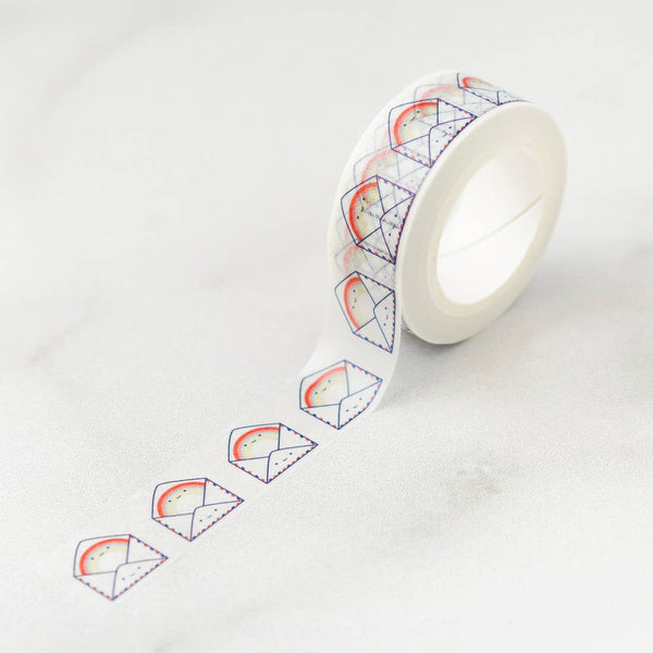 Rainbow Envelopes Washi Tape