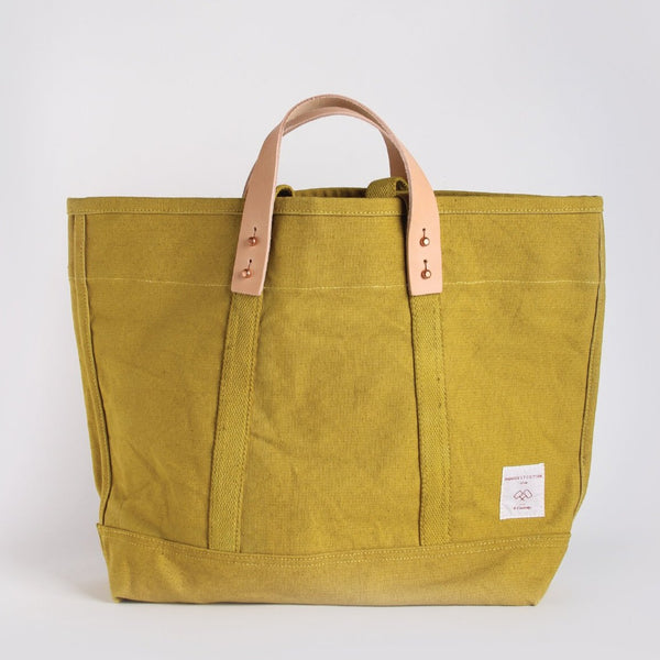 EAST-WEST TOTE | SMALL CHARTREUSE