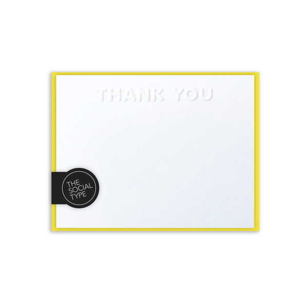 Sunshine Thank You Note Set