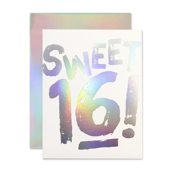 Sweet 16! Holla-Gram