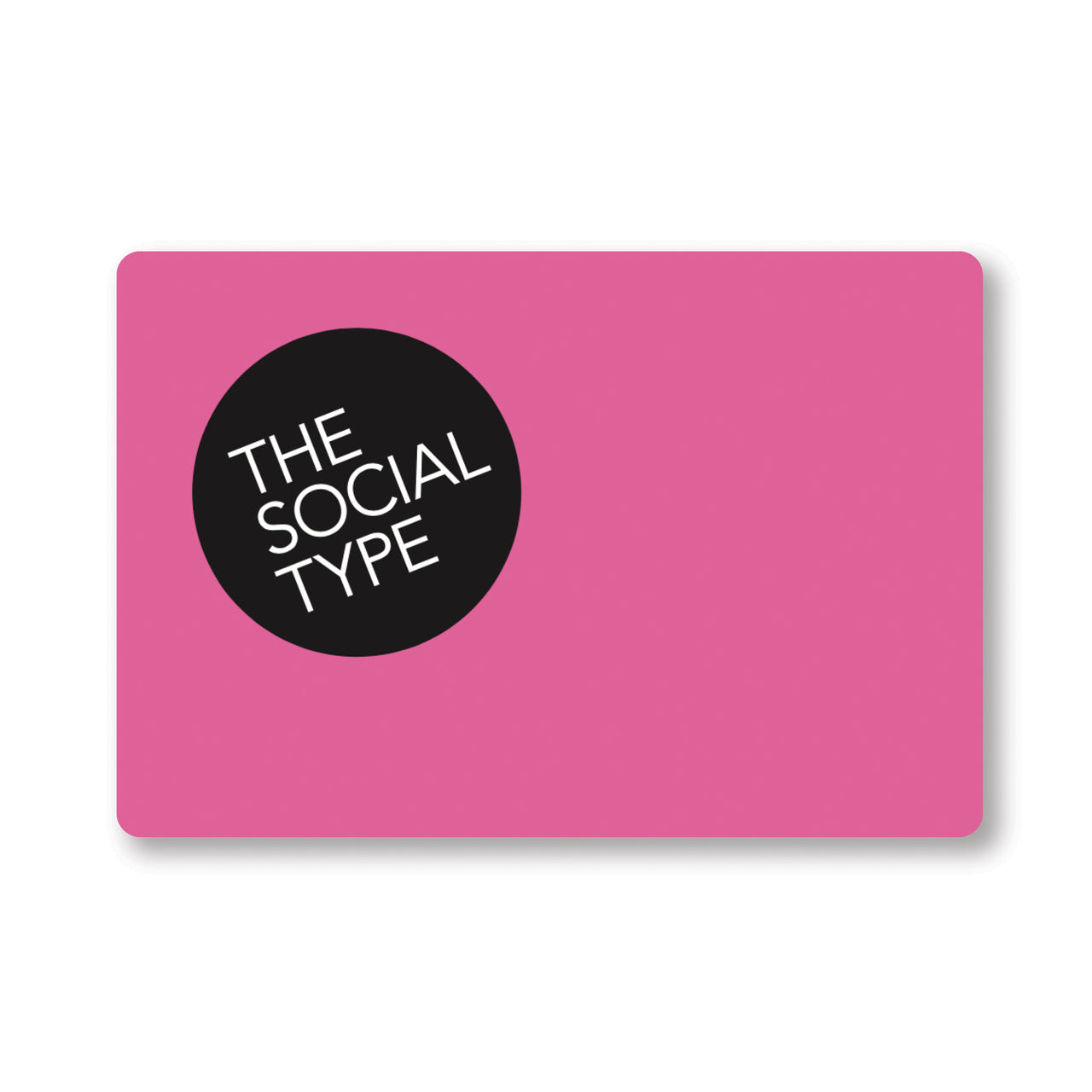 The Social Type Gift Card