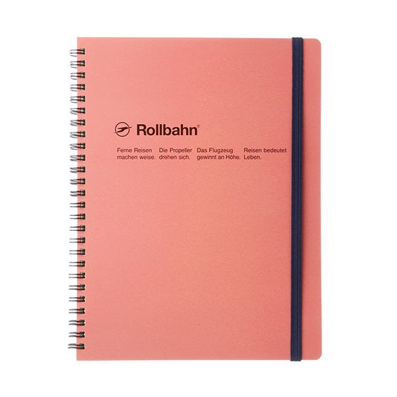 Rollbahn Spiral Notebook - A5 Blush Pink