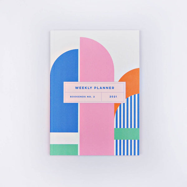 Bookends No. 2 2021 Weekly Planner Book