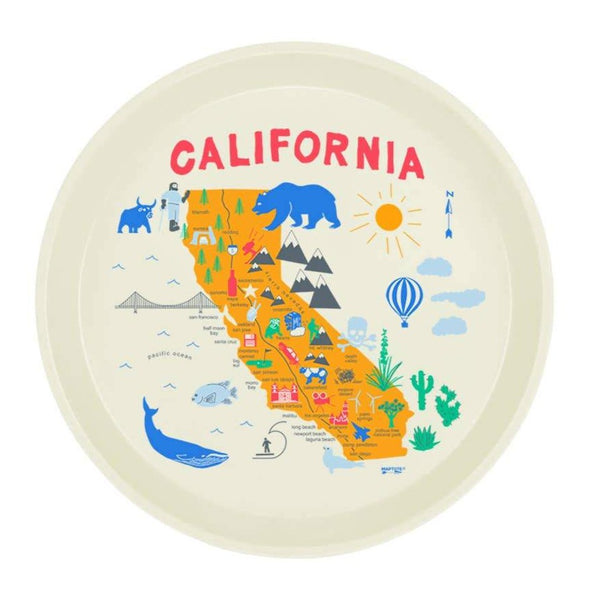 California Round Tray