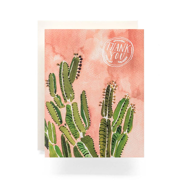 Coral Cactus Thank You (Boxed Set)