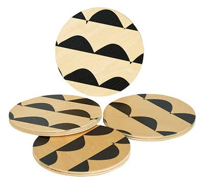 Curve Round Coasters